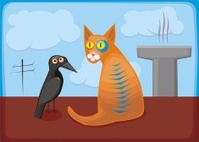 cat_and_crow