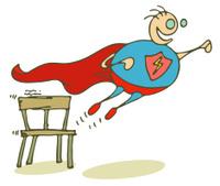 It's Superboy!