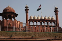 Delhi Gate and the Red Fort