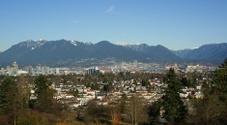 Vancouver From Queen Elizabeth Park