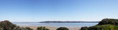 Birkenhead point across Auckland Harbor