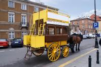 old tram horse