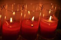 Prayer Candles at Church