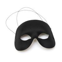 black half-mask