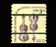 3.5 cent Weaver Violins Stamp