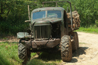 Old work truck