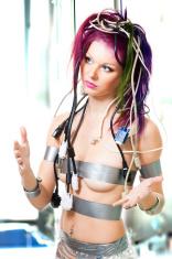 Nippel mmmmhhhh women in futuristic bondage images