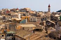 roofs of Corfu Town, Greece