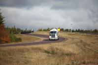 Semi Truck on highway