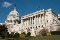 Capitol Building in April