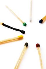 varicoloured matches