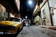 night in big city