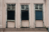 Decayed shophouse