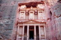 Rose Red City Petra in Jordan