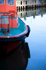 Pilot boat in waiting