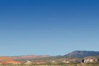 landscape desert sandstone mesa mountains
