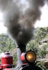 steam train - colour
