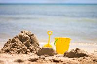 Bucket and Spade on the Beach 2