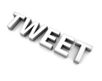 3d word tweet