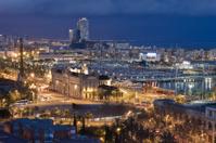 BCN city lights