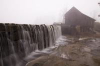 Fog on  Yates Mill