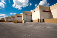 Warehouse loading dock units