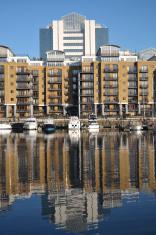 St.Katharine's Dock, London, UK