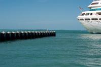 Back End of Cruise Ship