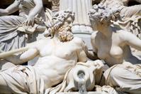 Vienna - Athena fountain