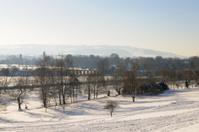 Vale of Evesham under Snow