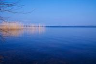Perfect blue lake