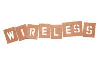 Wireless Stencil Word