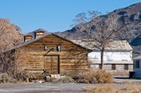World War 2 era barracks in Nevada desert