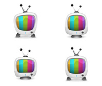 Retro TV   Color Bar