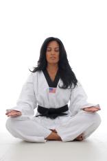 Meditation before practice