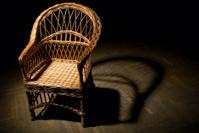 Straw armchair