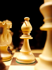Bishop on a Game of Chess