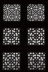 Ornate Window Screen