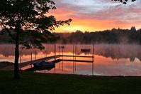 Sunrise at a Lake
