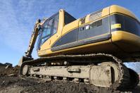 Excavator,Close-up