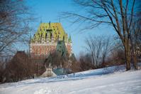 Frontenac Castle in winter