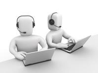 Callcenter. Teamwork