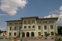 Old historical school building in Turkey