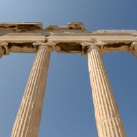 Columns at Acropolis
