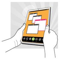 Tablet Computer Concept - Gesture User Interface v03