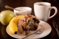 Healthy Blueberry Muffin Breakfast