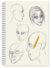 Sketches - Portraits