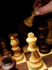 Moving the Bishop in a Game of Chess