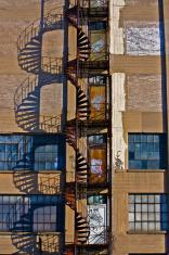 Spiral Stair Fire Escape