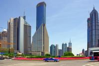 China Shanghai modern buildings